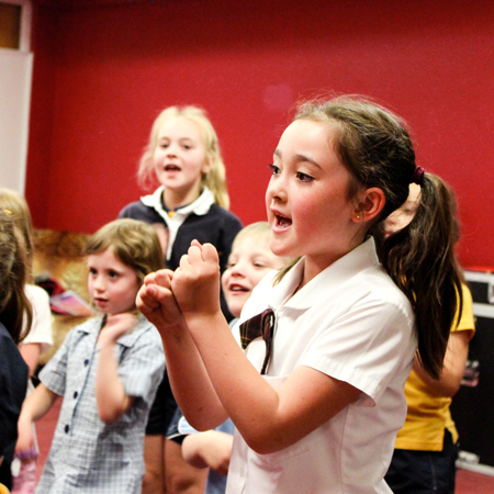Kinder to Grade Two Drama Classes, Music Classes, Singing Classes. Hobart Perfomance Academy