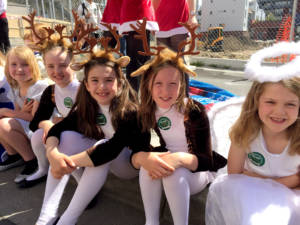 Last year's Christmas Pageant entry