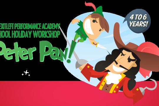 Peter Pan! holiday workshop (Kin)