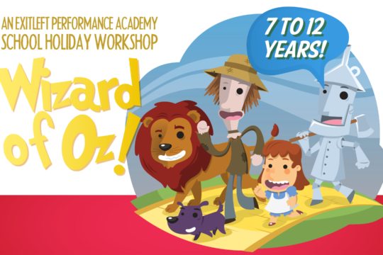Wizard of Oz! holiday workshop (Kin)