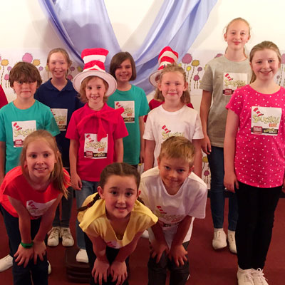 Seussical. school holiday activities for kids. Kids holiday workshops.