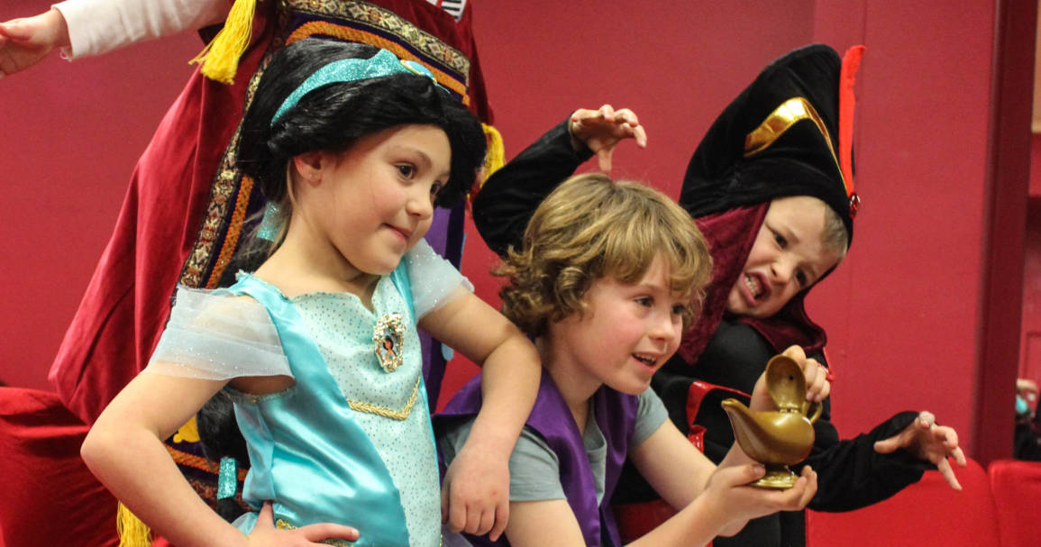 Can kids perform a whole fairytale in just one day?