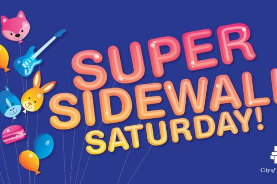 Super Sidewalk Saturday
