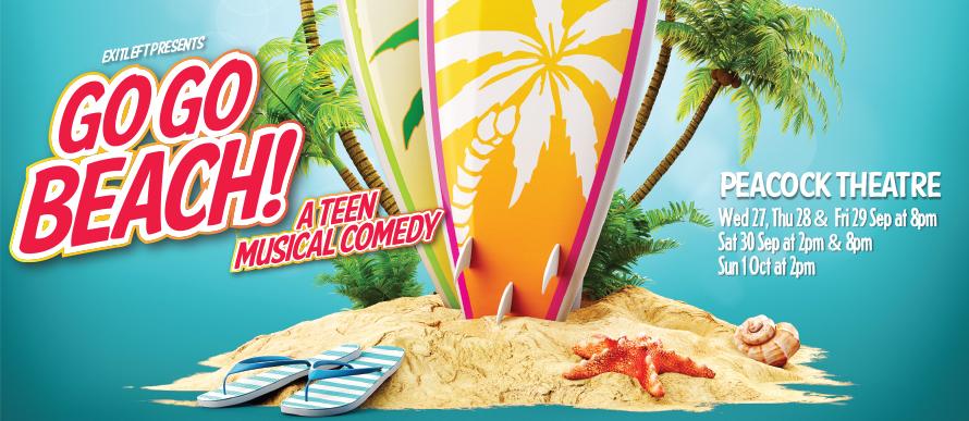 Go Go Beach - A teen musical comedy