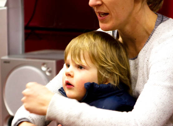 I love my music class, mummy, but I wont tell you that