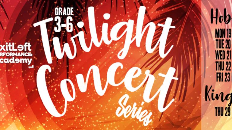 Grade 3-6 Twilight Concert Series