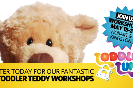 FREE Toddler Teddy Workshops