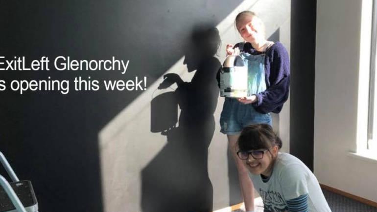ExitLeft Glenorchy Studio now open!
