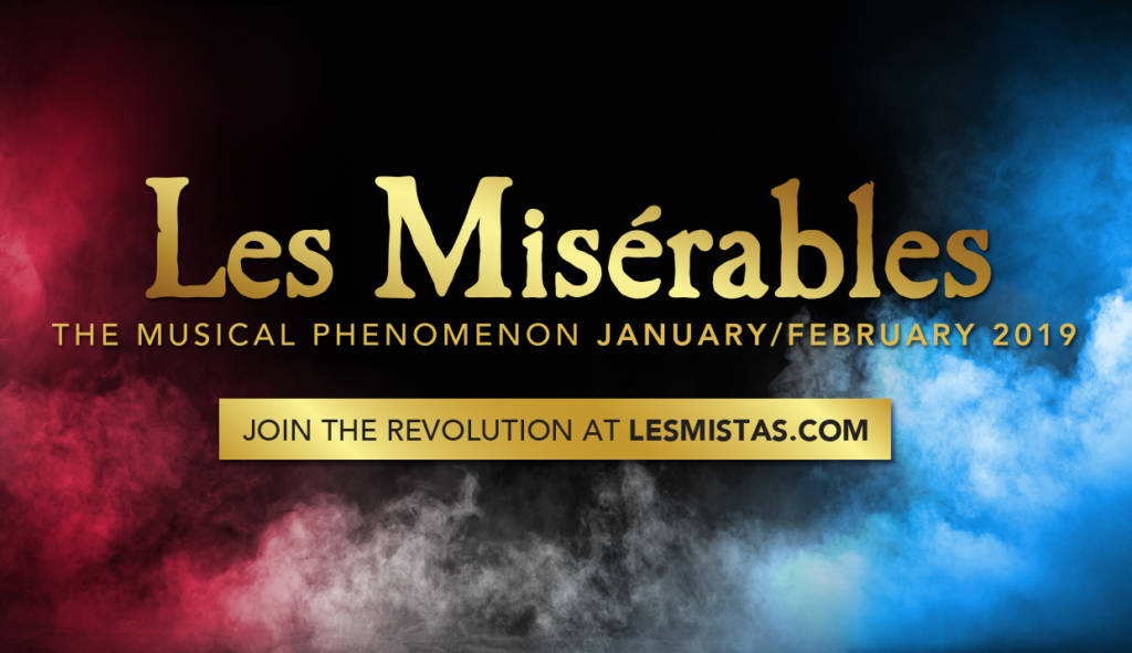 Les Mis comes to Hobart in January 2019