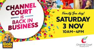 ExitLeft performing at Channel Court Sat 3 Nov