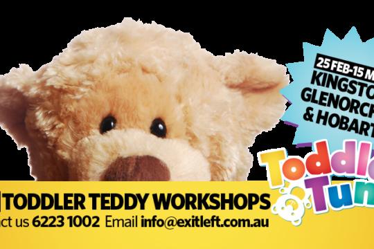 FREE Toddler Teddy Workshops